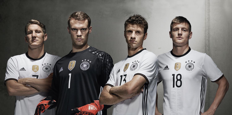 Футбольная форма Германии на Евро 2016