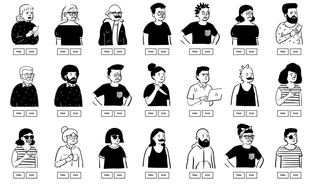 Где скачать персонажей для проекта