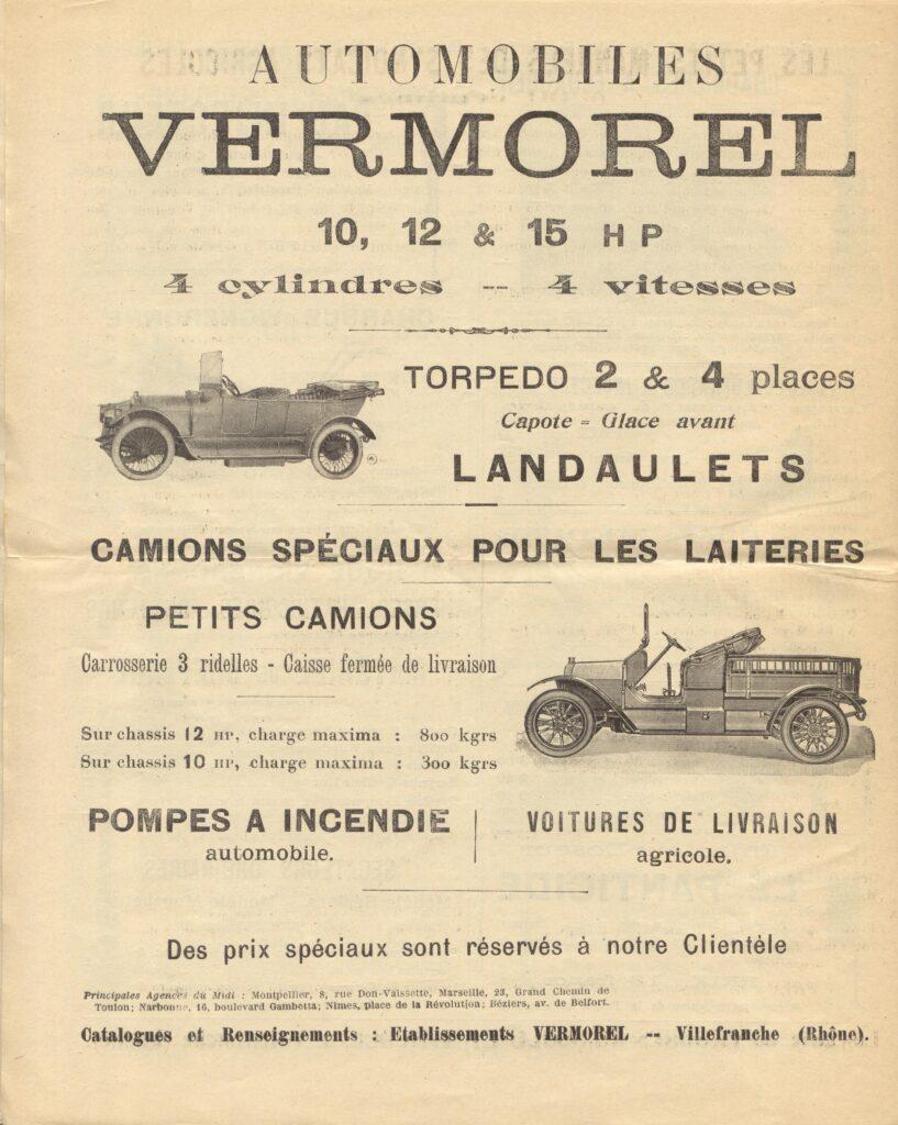 Каталог Vermorel, 1914