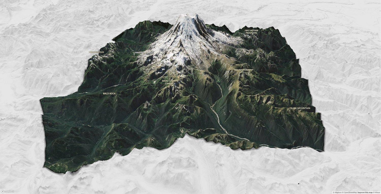 3D карты от Mapbox для своих проектов