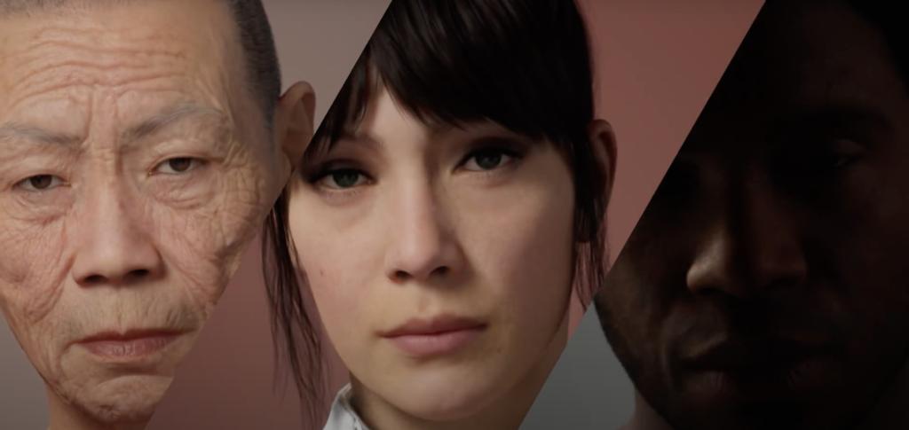 Создание 3D людей в реальном времени